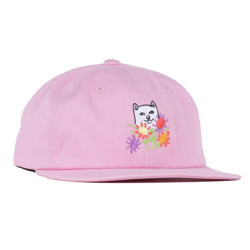 RIPNDIP - Nermcasso Strapback Hat, Pink - The Giant Peach