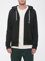 OBEY - Lofty Creature Comfort Men's Zip Hood, Black - The Giant Peach