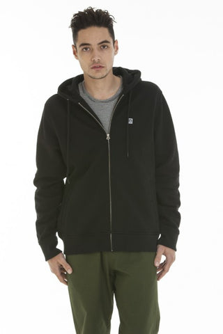 OBEY - Eighty Nine Men's Zip Hoodie, Black