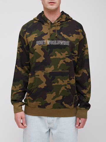 OBEY - Automatic  Pullover Men's Hoodie, Camo