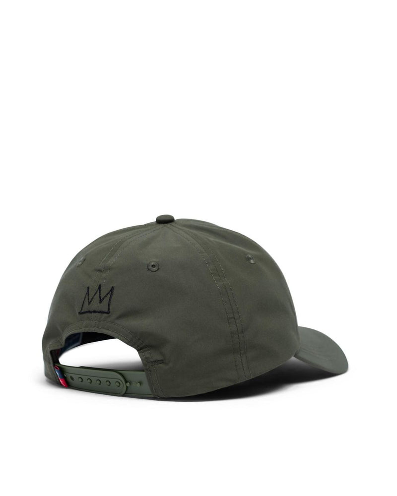 Herschel Supply Co. x Basquiat - Mosby Curve Hat, Dark Olive