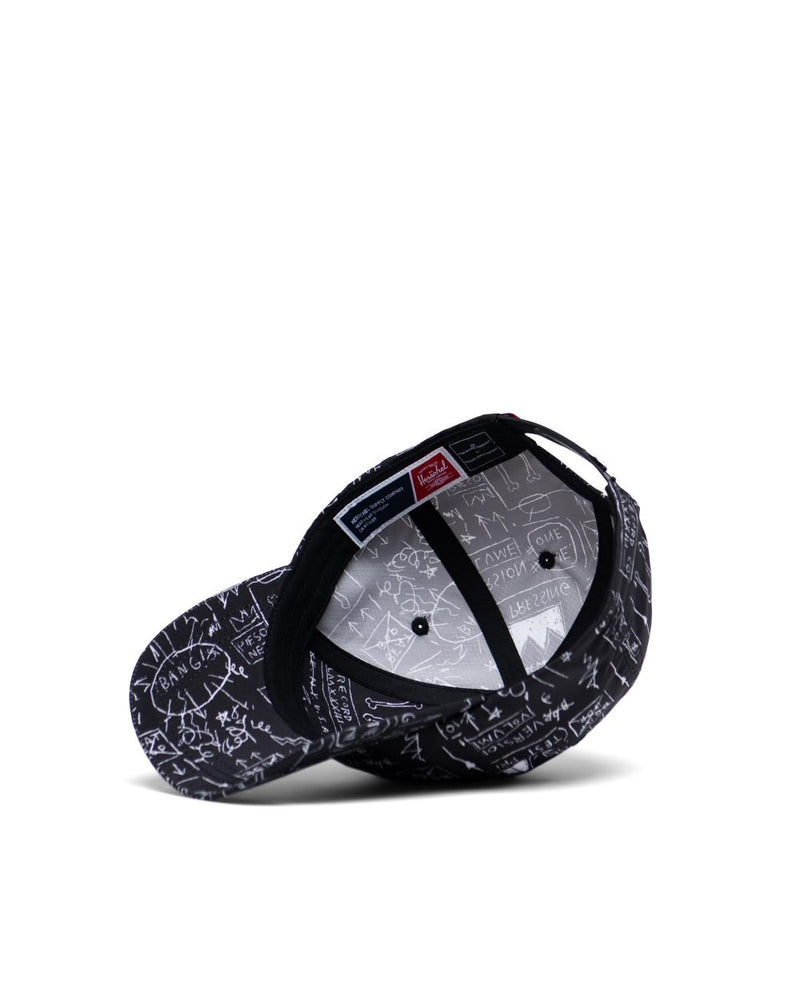 Herschel Supply Co. x Basquiat - Mosby Curve Hat, Basquiat Beat Bop