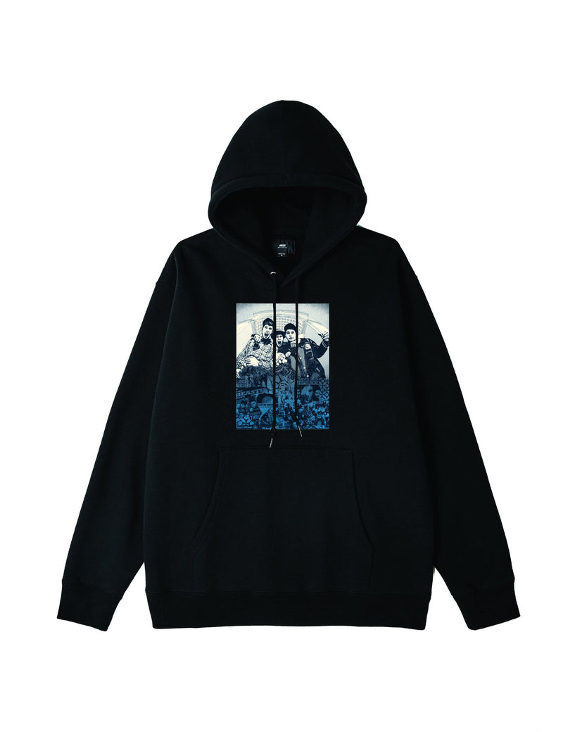 OBEY x Glen E. Friedman Beastie Boys Hoodie, Black