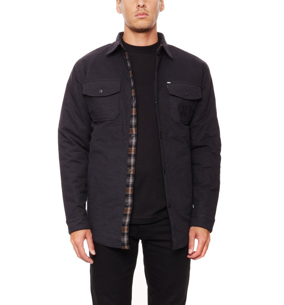 REBEL8 - Transient Men's Jacket, Grey - The Giant Peach
