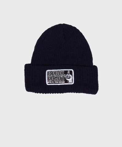 REBEL8 - Bite It Beanie, Black