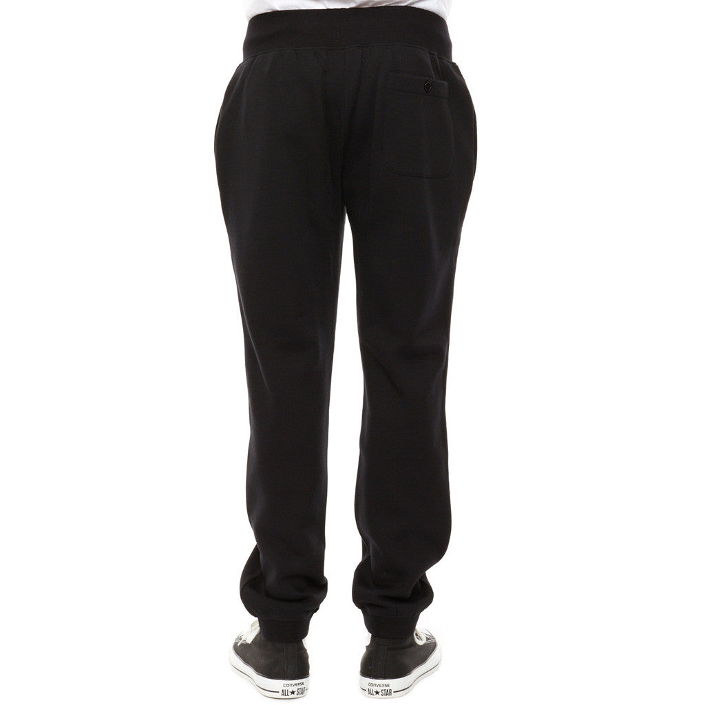 REBEL8 - Laurels Men's Sweatpants, Black - The Giant Peach
