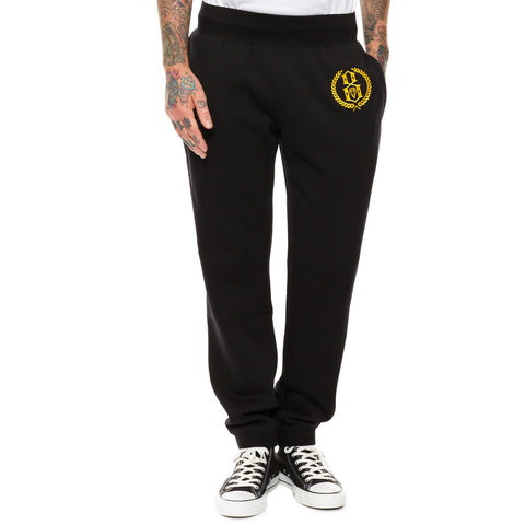 REBEL8 - Laurels Men's Sweatpants, Black