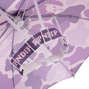 RIPNDIP - Camo Umbrella Hat, Purple
