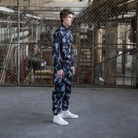 RIPNDIP - Nerm Camo Men's Track Jacket, Blackout Camo