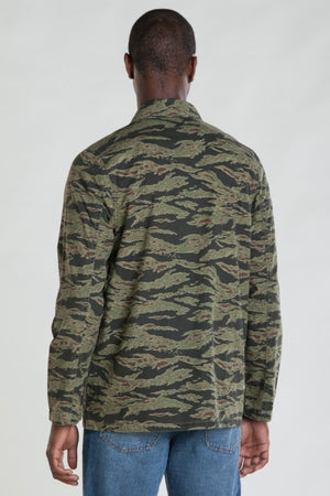 OBEY - Dissent Men's Jacket, Tiger Camo - The Giant Peach