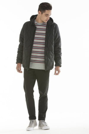 OBEY - Transit City Men's Jacket, Black - The Giant Peach