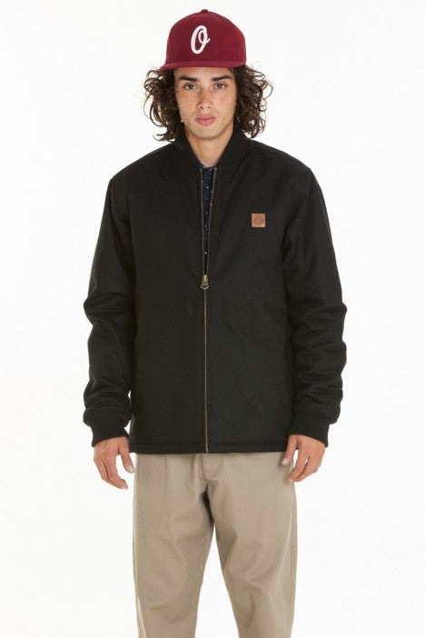 OBEY - Badger Men's Jacket, Black - The Giant Peach - 4