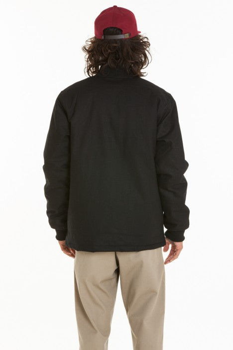 OBEY - Badger Men's Jacket, Black - The Giant Peach