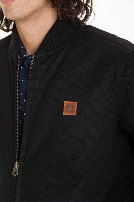 OBEY - Badger Men's Jacket, Black - The Giant Peach - 2