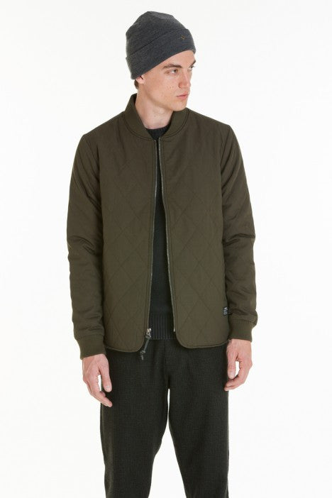 OBEY - Parker Men's Jacket, Dark Army - The Giant Peach - 6