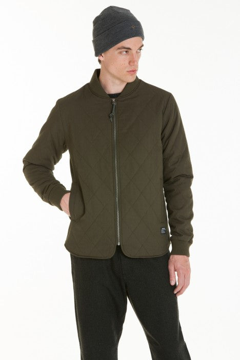 OBEY - Parker Men's Jacket, Dark Army - The Giant Peach - 4