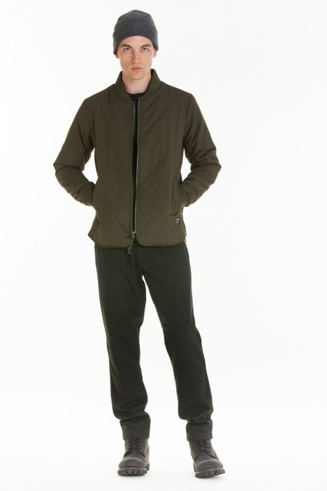 OBEY - Parker Men's Jacket, Dark Army - The Giant Peach - 1