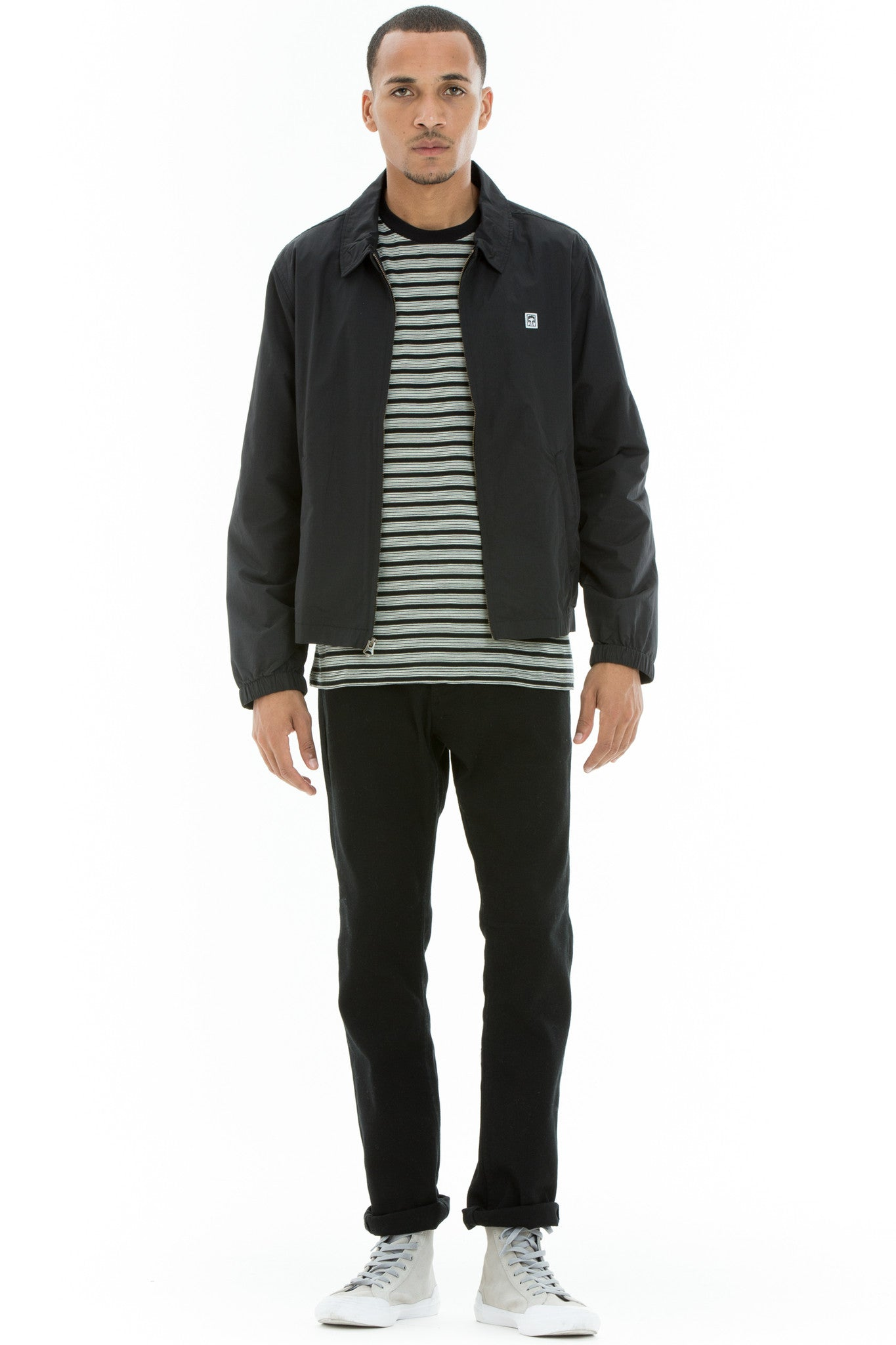 OBEY - Eighty Nine Men's Casual Jacket, Black - The Giant Peach