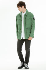 OBEY - Jamie Reid Men's Jacket, Army - The Giant Peach - 1