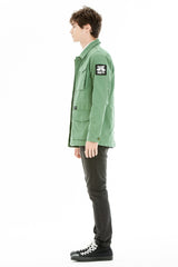 OBEY - Jamie Reid Men's Jacket, Army - The Giant Peach - 2