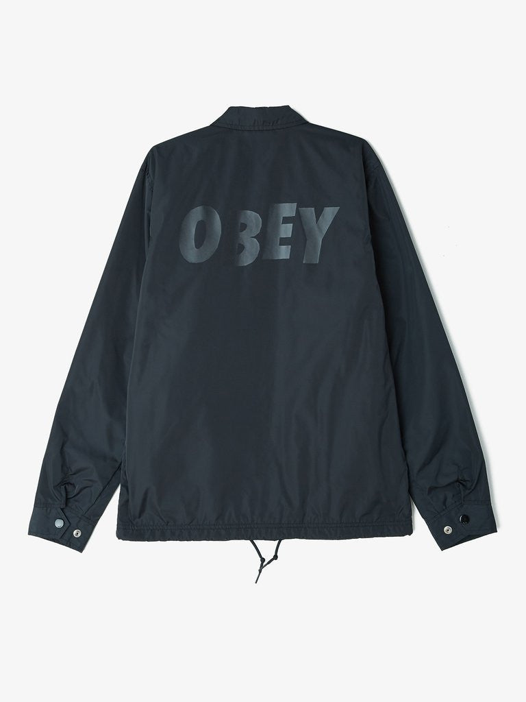 OBEY - Baker Graphic Men's Jacket, Black - The Giant Peach