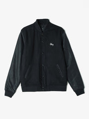 OBEY - Soto Collegiate Men's Jacket, Black - The Giant Peach