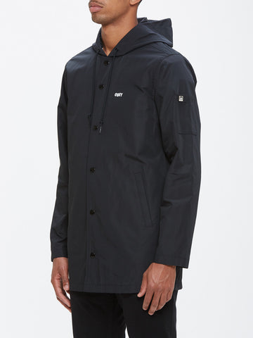 OBEY - Wellington Men's Parka, Black
