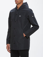 OBEY - Wellington Men's Parka, Black - The Giant Peach