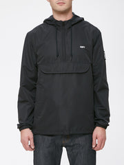 OBEY - Crosstown Men's Anorak Jacket, Black