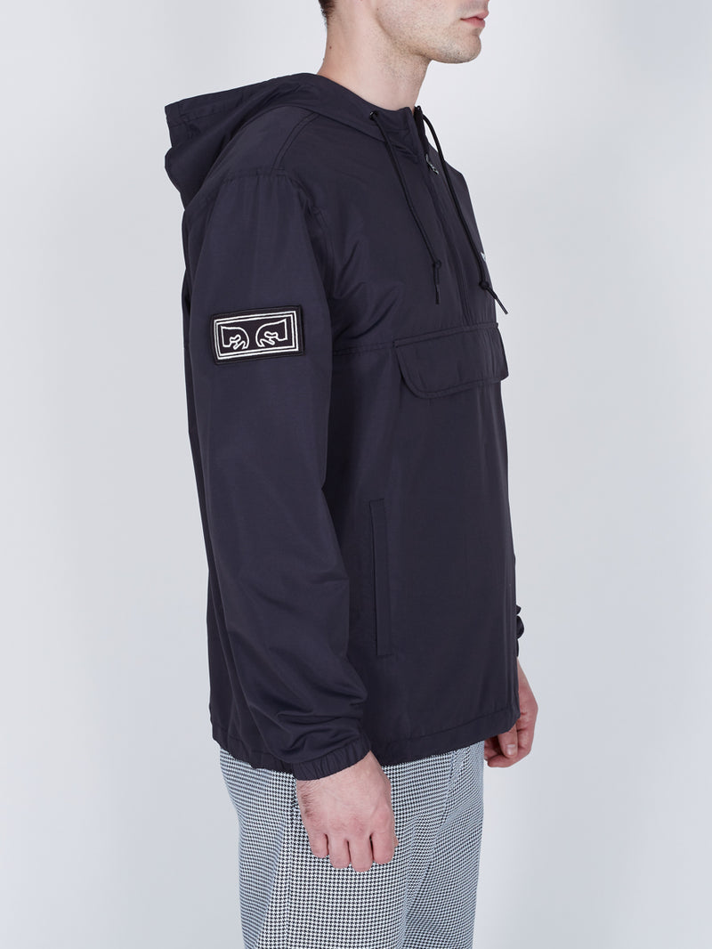 OBEY - Crosstown II Men's Anorak Jacket, Black