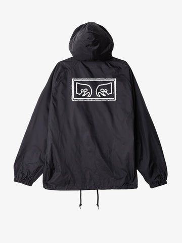 OBEY - Obey Eyes Men's Coaches Jacket, Black