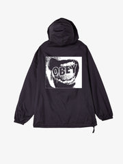 OBEY - Screamer Men's Anorak Jacket, Black
