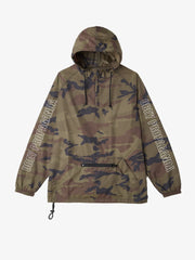OBEY - Rough Draft Men's Anorak Jacket, Camo - The Giant Peach