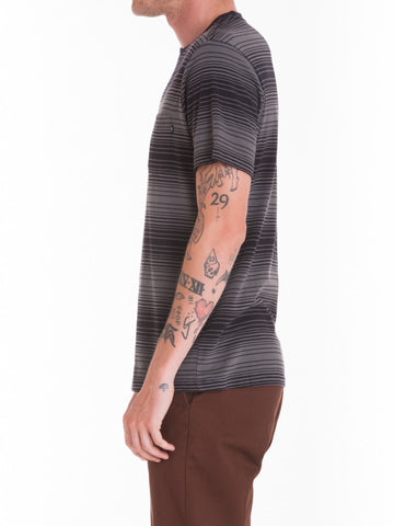 OBEY - Ricks Men's Pocket Tee, Black Multi