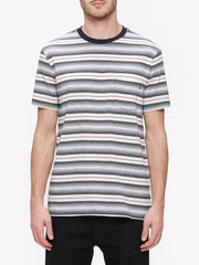 OBEY - Croft Men's Pocket Tee, Black Multi - The Giant Peach