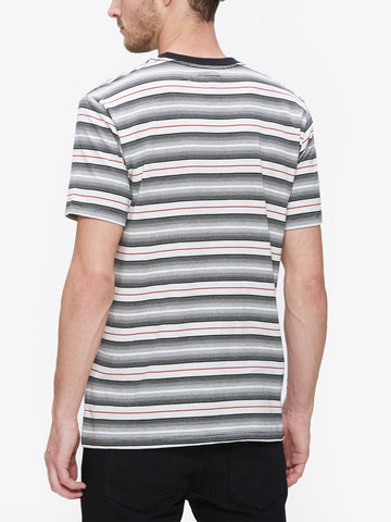 OBEY - Croft Men's Pocket Tee, Black Multi