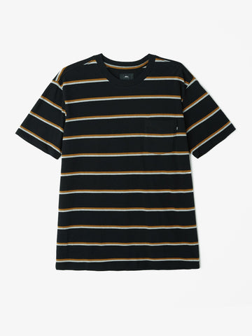 OBEY - Milo Men's Pocket Tee, Black Multi