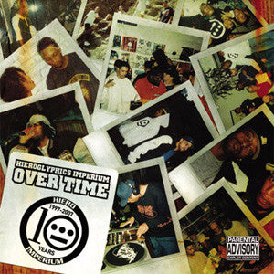 Hieroglyphics - Over Time, CD