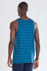 OBEY - Fairmont Men's Tank, Mineral Blue - The Giant Peach