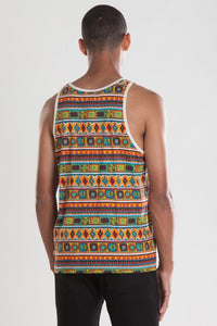 OBEY - Prince Men's Tank, Multi - The Giant Peach