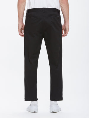 OBEY - Straggler Flooded Men's Pants, Black - The Giant Peach