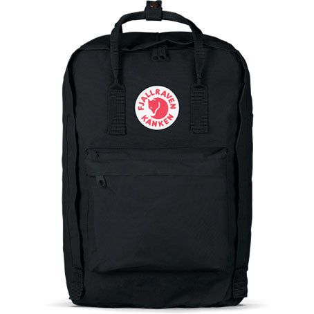 "Fjallraven - Kanken 15"" Laptop Backpack, Black - The Giant Peach"