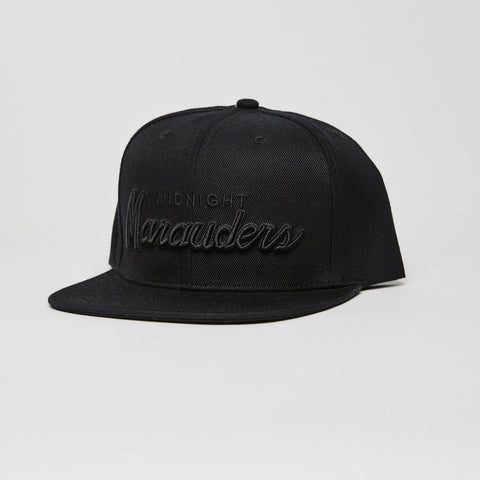 Midnight Marauders Snapback, All Black - The Giant Peach - 1