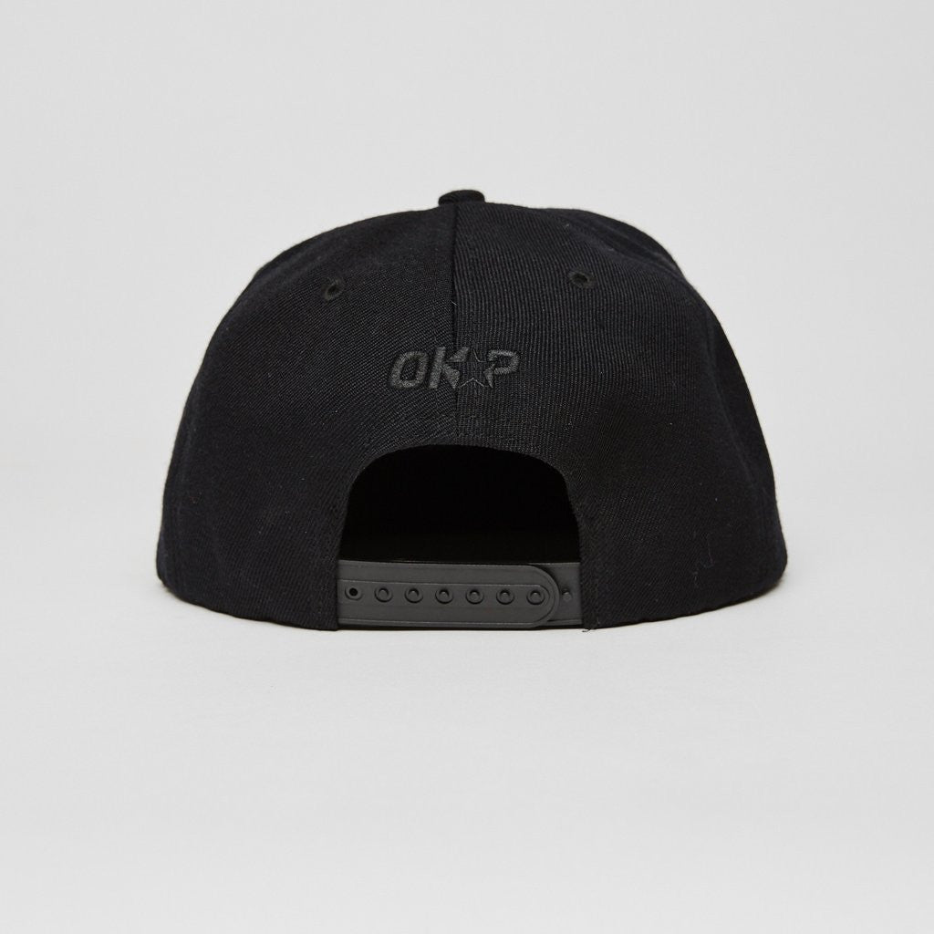 Midnight Marauders Snapback, All Black - The Giant Peach