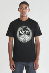 OBEY - Third Eye Sound Men's Tee, Black - The Giant Peach