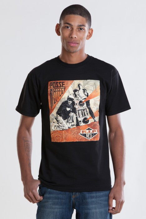 OBEY - RIP MCA Men's Tee, Black - The Giant Peach