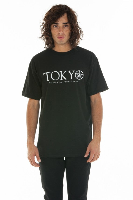 OBEY - Time Zone (Tokyo) Men's Shirt, Black - The Giant Peach
