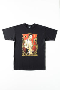 OBEY - Joe Strummer Foundation Men's Shirt, Black - The Giant Peach