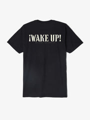 OBEY - Wake Up Silent Majority Men's Shirt, Black - The Giant Peach