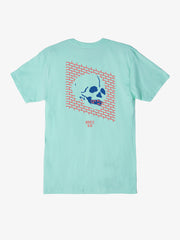 OBEY x Never Made - Wall Of Death Men's Shirt, Celadon - The Giant Peach